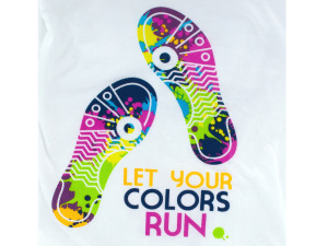 Wholesale: Large Color Run T-Shirt