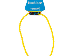 Yellow Twist Sport Necklace