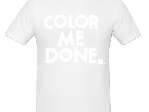 Large Color Run Whiteout T-Shirt