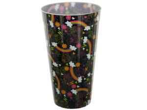 Wholesale: Rainbows & Skulls Plastic Tumbler Cup