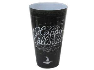 Wholesale: Happy Halloween Chalk Art Plastic Tumbler Cup