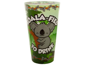 Wholesale: Koala-Fied To Drink Plastic Tumbler Cup