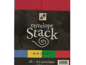 Wholesale: Bright Colors Envelope Stack