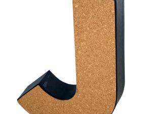 Wholesale: 'J' Decorative Cork Board Letter