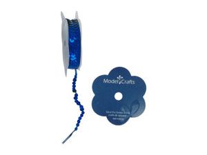 Wholesale: Royal blue sequin spool
