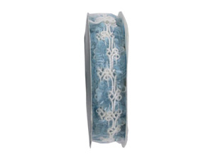 Wholesale: Blue/white 4.5 foot novelty braid spool