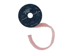 Wholesale: Pink twisted cord/ribbon 6 foot spool