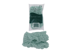 Wholesale: Ruffled Lace Edging