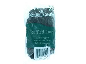 Wholesale: Green ruffled lace, 4 yards