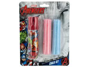 Wholesale: Marvel Avengers Jumbo Chalk with Holder Set