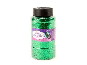 Wholesale: Green Glitter Shaker 16 oz