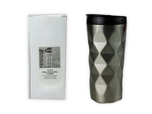 Wholesale: Silver Geometric Tumbler