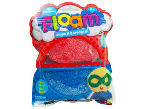 Wholesale: Shape & Create Red and Blue Floam