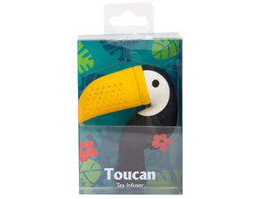 Wholesale: Toucan silicone tea infuser