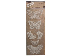 Wholesale: Butterfly lace sticker