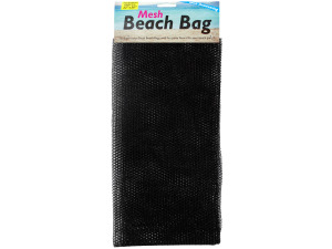 Mesh Beach Bag with Drawstring