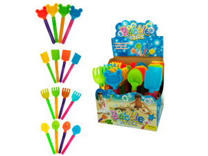 Sand Toy Bubble Stick Counter Top Display