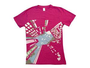 Pink Skyscraper T-Shirt