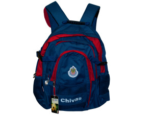 Chivas Backpack with Zipper & Mesh Pockets