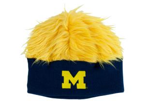 University of Michigan Furry Knit Hat