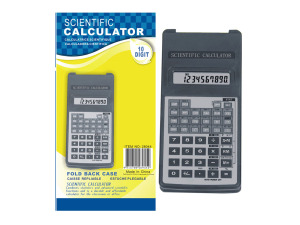 Wholesale: Scientific calculator with fold-back case