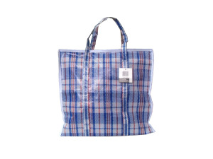 Wholesale: Plaid shopping bag