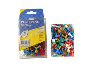 Wholesale: Push pins, pack of 150