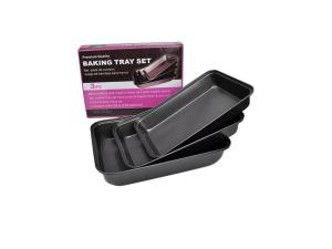 Wholesale: Baking trays, set of 3