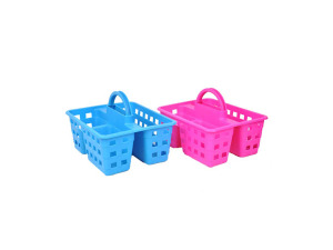 Wholesale: Portable shower caddy, assorted colors