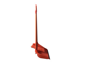 Wholesale: Broom and dustpan, assorted colors