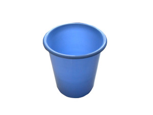 Wholesale: Plastic trashcan, assorted colors