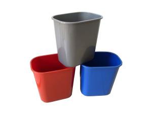 Wholesale: Plastic rectangular trash can