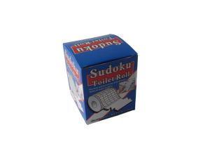 Wholesale: Sudoku toilet paper roll, 21 yards