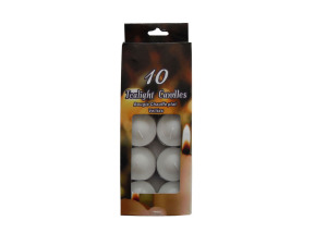 Wholesale: Tealight candles, pack of 10
