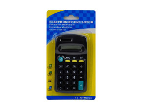 Wholesale: Electronic calculator with 3-key memory