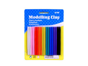Wholesale: Modeling clay, pack of 18
