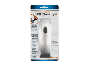Wholesale: Crank flashlight