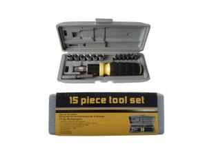 Wholesale: 15-piece tool set