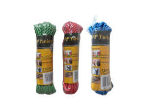 Wholesale: Colored twine, 13 yards