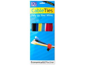 Wholesale: Hook & Loop Cable Ties