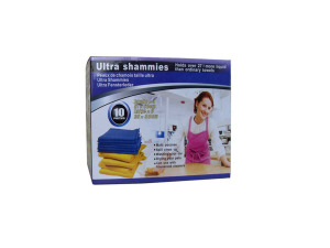 Wholesale: Ultra shammies, pack of 10