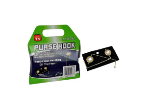 Wholesale: Purse hooks, 2 pack