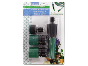 Garden hose adapter set