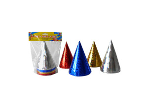 Wholesale: Party hats, laser design, pack of 12