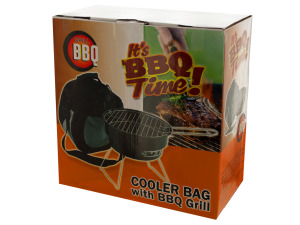 Wholesale: Cooler Bag with Barbecue Grill Set