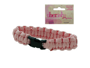 Wholesale: Cherish paracord bracelet