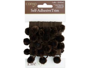 Wholesale: Brown Self Adhesive Decorative Trim