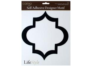 Wholesale: Self-Adhesive Geometric Diamond Designer Motif