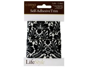 Wholesale: Conso 2 yard damask self adhesive trim