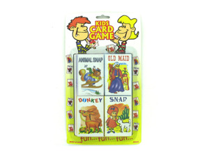 Wholesale: Children's card game set